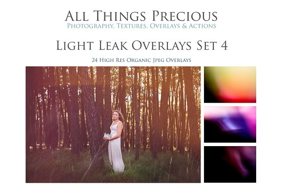 Fine Art Light Leaks Set 4