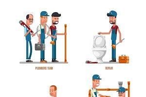 Plumbers and plumbing repairs