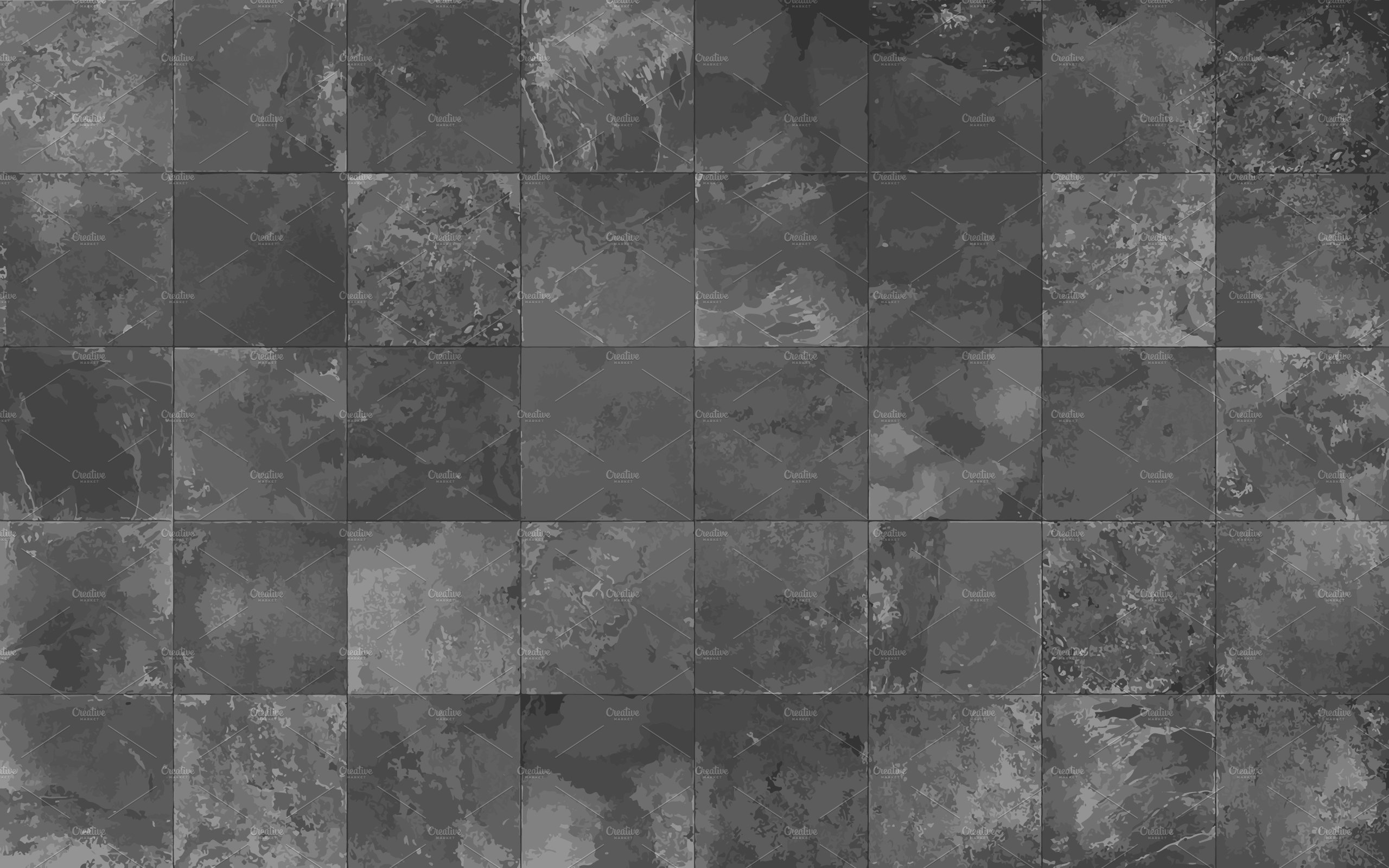 Seamless Texture With: Slate Tile Seamless Texture, Vector