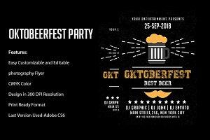 Oktober Fest Flyer