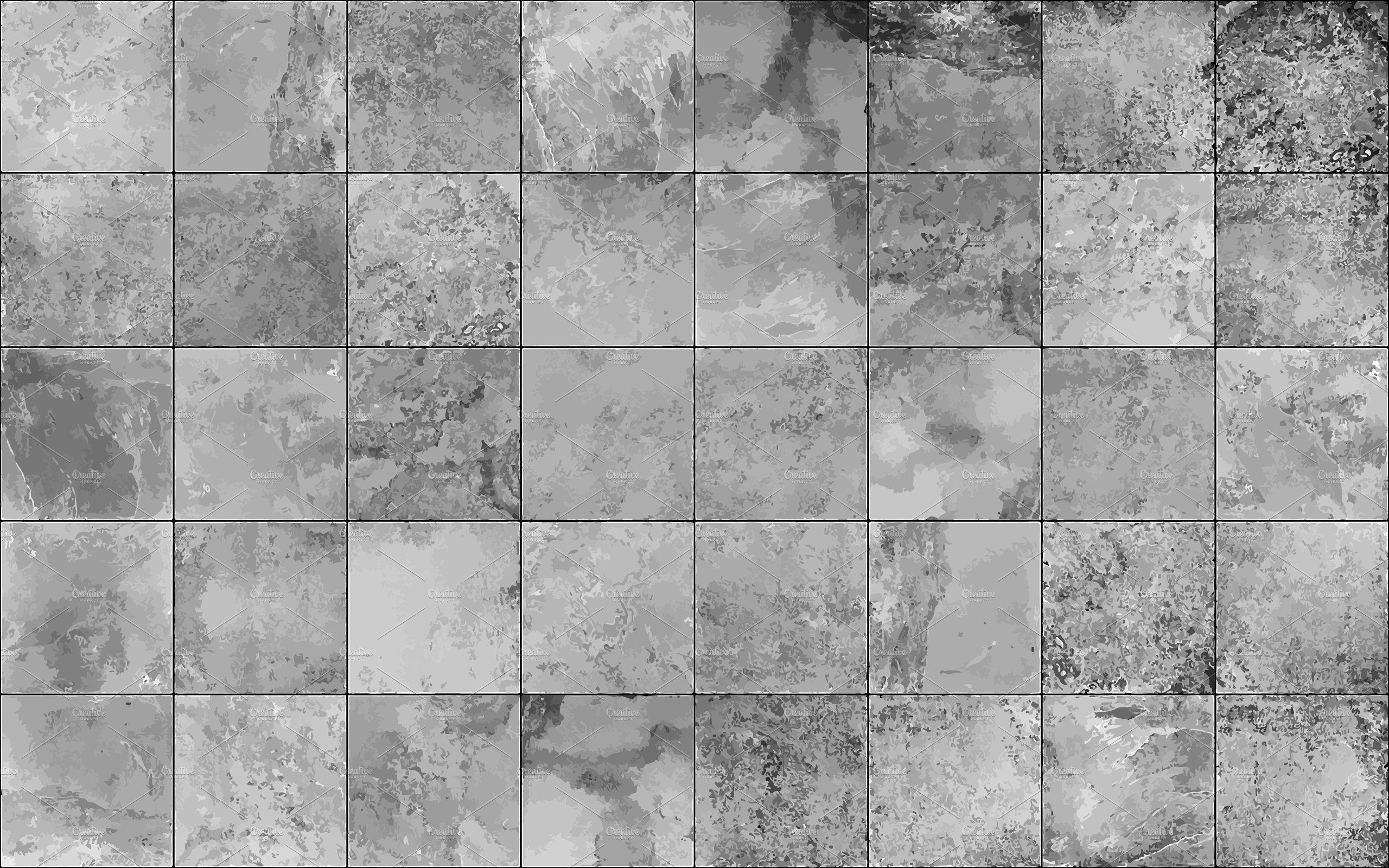 Slate tile seamless texture, vector | Custom-Designed ...