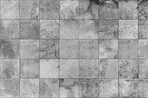 Slate tile seamless texture, vector