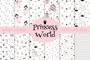 Princess World pattens kit