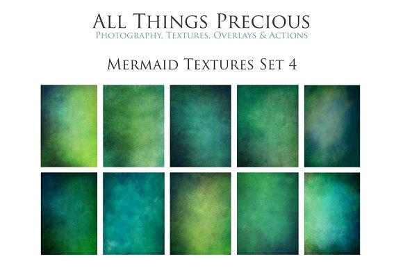 Fine Art Mermaid Textures Set 4