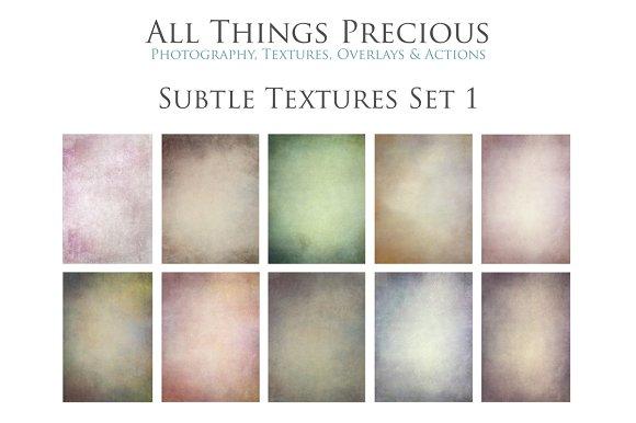 Fine Art Subtle Textures Set 1