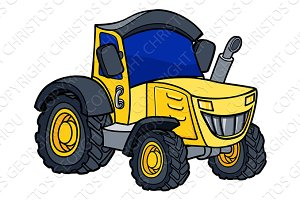 Tractor Cartoon