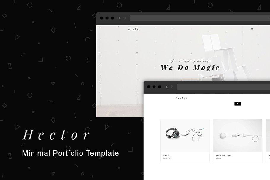 9 HTML5 Portfolio Website Templates