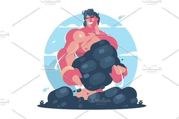 Mythological Character Of Hercules