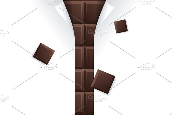 Chocolate Package Blank