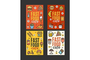 Fastfood and Street Food Banner