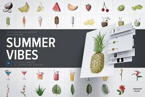 Summer Vibes - Illustration Pack