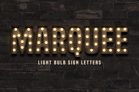 marquee letter font 10 realistic marquee fonts to add a retro touch to your 23578 | marquee light bulb sign letters preview cm 1