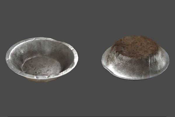 3D Appliances: Game-Ready Studio - Old Rusted Bowl