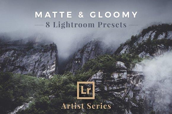 Matte Gloomy Lightroom Presets
