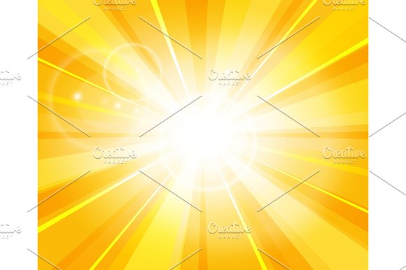 Sun Beams Pattern