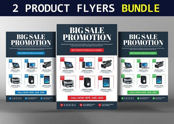 2 Product Promotion Flyers Bundle