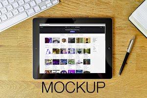 Mockup for iPad