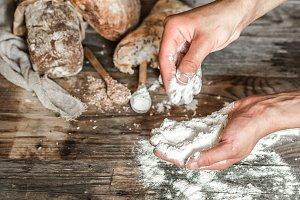 preparation of the bread