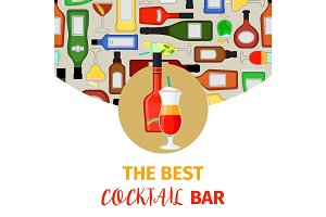 Cocktail bar banner