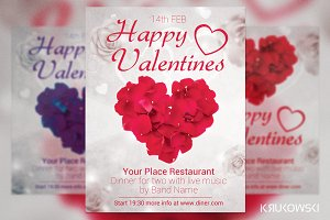 Happy Valentines Flyer