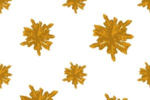 Leaves Motif Seamless Graphic Pattern