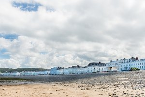 Llandudno Sea Front in North Wales, United Kingdom