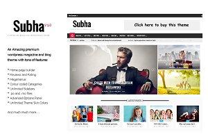 Subha - A Responsive Magazine Theme