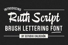 Ruth Script Font Family