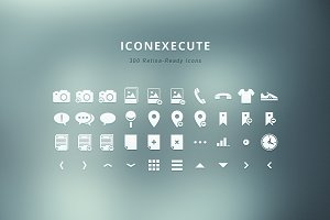 IconExecute - 300 Retina-Ready Icons