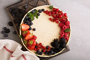 Fresh berries on a plate