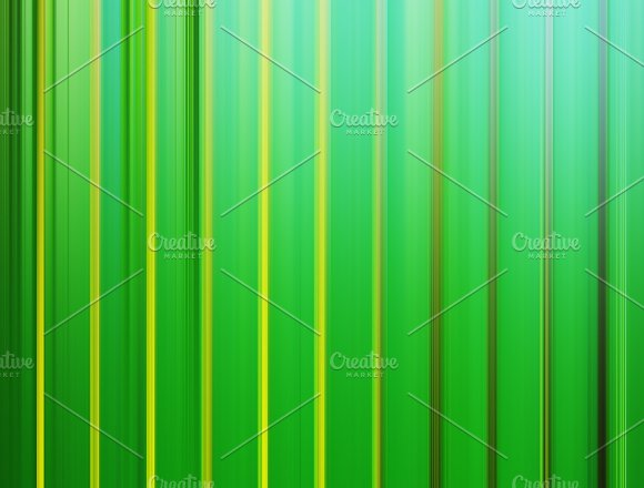 Vertical Green Curtains Illustration Background