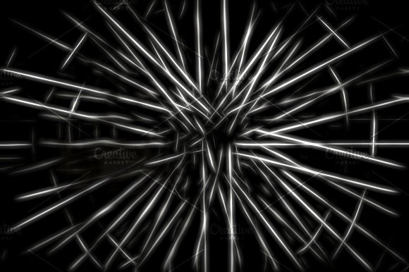 Teleportation Rays Illustration Background