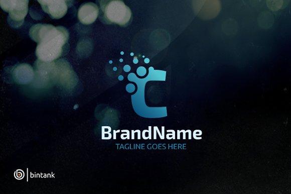 Letter C Dot Logo