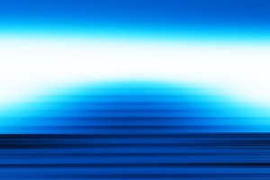 Horizontal blue upstairs ladder background