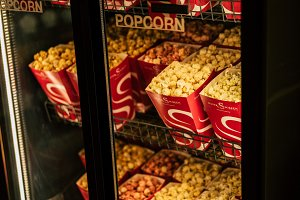Popcorn in the cinema
