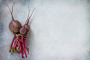 Young beetroot