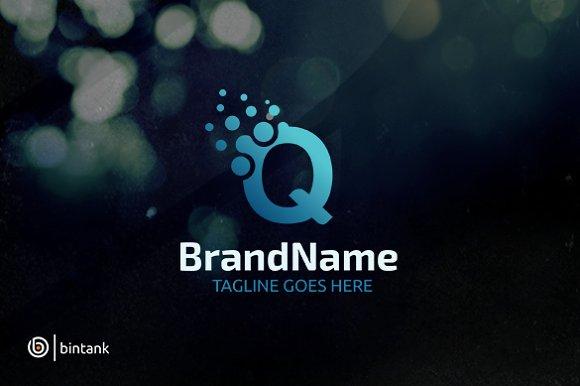 Letter Q Dot Logo