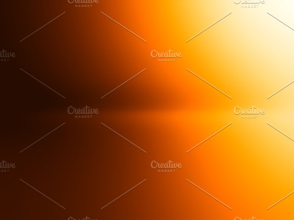 Horizontal Orange Light Leak Background