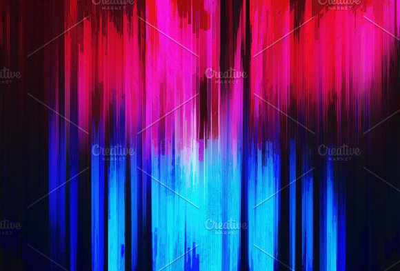 Abstract Vertical Bars Painting Background
