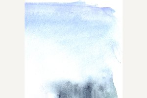 Watercolor blue texture background
