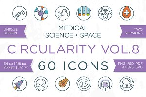 Circularity Icons Volume 8