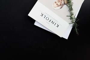 KINFOLK | Styled Website Banner