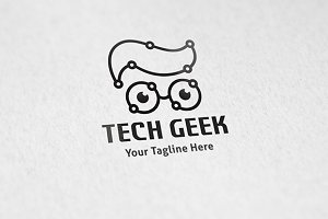 Tech Geek - Logo Template