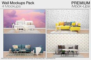 Wall Mockups Pack