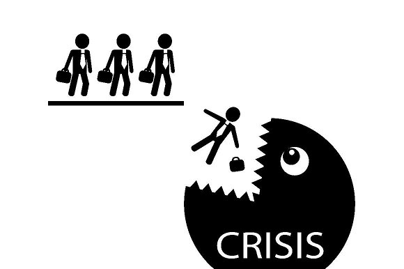 Businessmen And Crisis