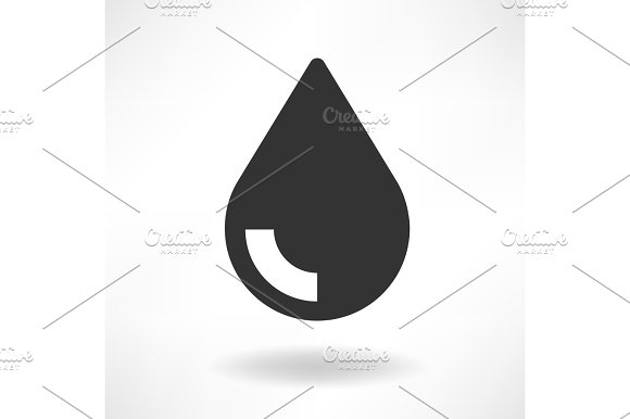 Drop Oil Simple Icon