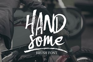 Handsome Font and Extras