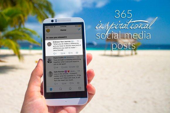 365 Inspirational Twitter Posts