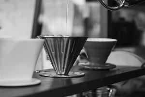 Beverage barista cafe