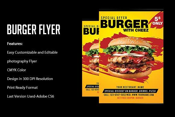 Burger Flyer Template